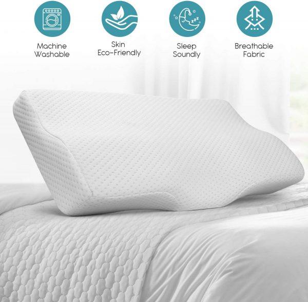 Description of occipital neuralgia pillow features