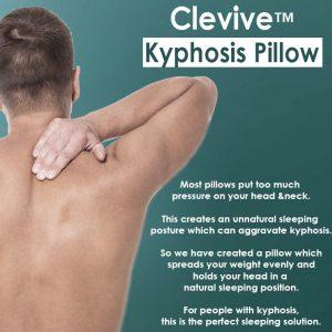 Kyphosis pillow Inforgraphic