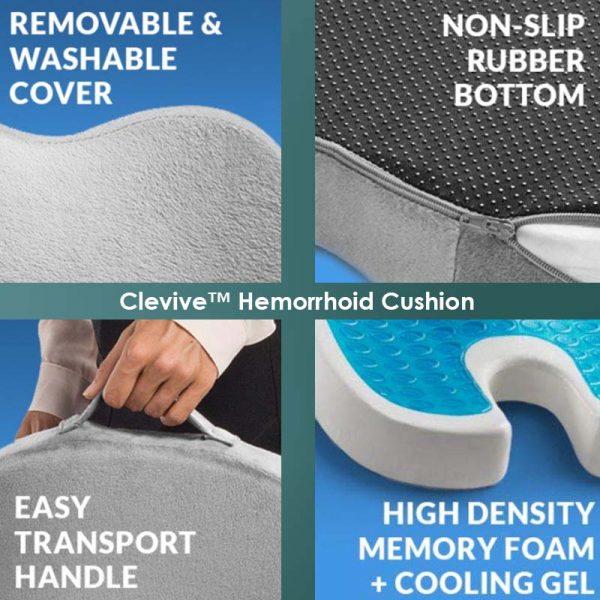 List of Hemorrhoid Cushion Benefits